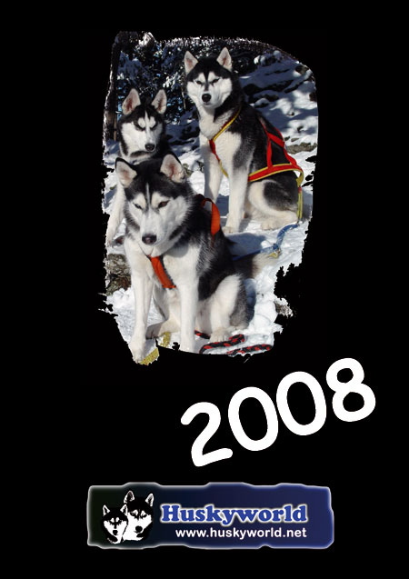 Huskyworld Kalender 2008